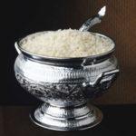 Para salvar el arroz quemado
