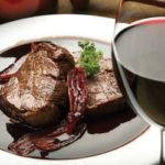 Filete.mignon.vino.tinto