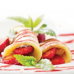 Panqueques.con.fresas