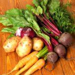 Para limpiar las verduras