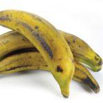 Para que el plátano no manche