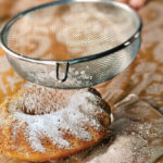 Para sustituir el azúcar glass