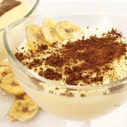 Pudin.de.banan.con.cocoa
