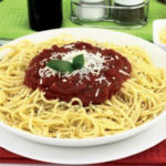 Salsa para espaguetis a la italiana