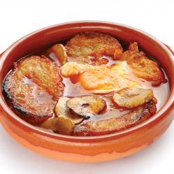 Sopa.de.ajo.castellana