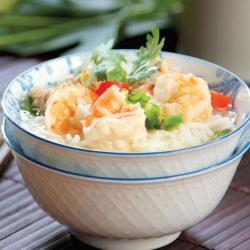 Sopa.de.arroz.con.camarones.y.cerdo.molido